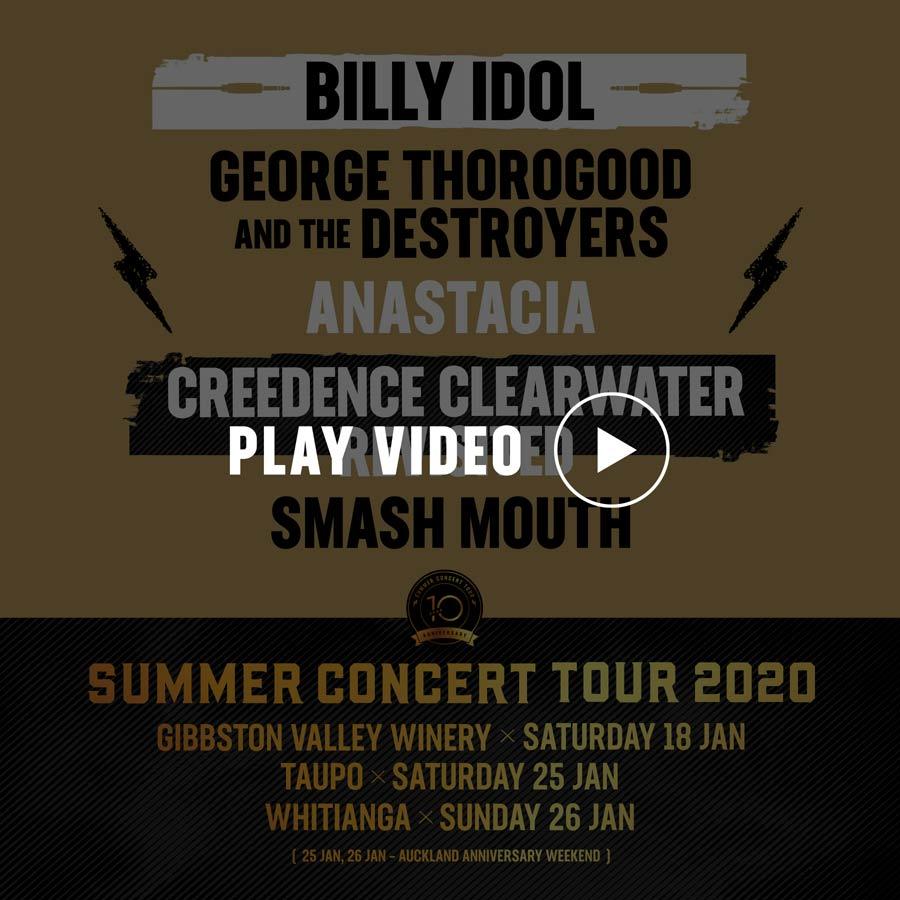 Summer Concerts 2020.Artists On Tour 2020 Tour 2020
